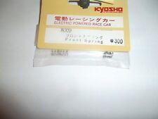 VINTAGE KYOSHO AX9 ressort de suspension avant AXIS (x2)