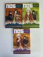 No.6 Manga Anime 3 volumes Set 1,2,3