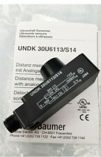 NEW UNDK 30U6113/S14 Baumer Ultrasonic distance measuring sensors