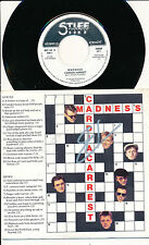 "MADNESS 45 TOURS 7"" BELGIUM CARDIAC ARREST"