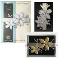 Christmas Poinsettia Band Metal Die Cut Flower Memory Box cutting dies 99490