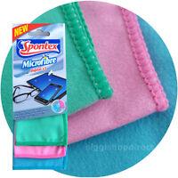 Pack of 3 Premium Microfibre Cleaning Cloth Camera Lens Glasses TV iPad iPhone