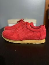 CLARKS KILDARE x RONNIE FIEG POPPY RED SZ 9.5 26069989 KITH 500 MADE RF MONDAY
