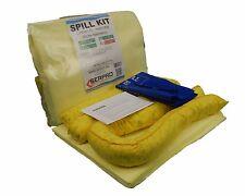 20 litros de químico absorbente de Emergencia Kit de derrame en Clip Top Bolsa