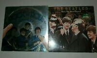 THE BEATLES Rock 'n' Roll Music Vol. 1 and  Vol. 2  LPs Both VG