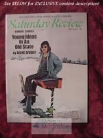 Saturday Review April 18 1970 STUDS TERKEL DIANE DIVOKY DAVID DEMPSEY