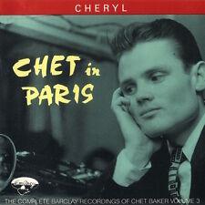 Chet Baker - Chet In Paris Volume 3 ( CD - Compilation )