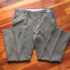 Waist Watcher action slacks pants40x31 hidden comfort stretch waistband gray new