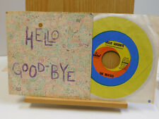 The Beatles 45 Hello Good Bye bw I Am The Walrus on Capitol