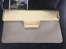 Michael Kors Gold Glamourous Clutch