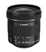 Canon EF-S 10-18mm f/4.5-5.6 IS STM Lens - NEW 9519B002