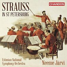 ESTONIAN NATIONAL SYMPHONY-STRAUSS IN ST PETERSBURGH  CD NEW