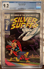 Silver Surfer #4 CGC 9.2 OW/W - Thor vs The Silver Surfer