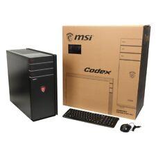 MSI Codex X3-012US Gaming Desktop Computer, Core i7, GTX 1080, 512GB, Windows 10