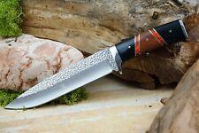 Jagd Bowie Messer Survival Knife Jagdmesser mit Hülle schickes Design Edelstahl