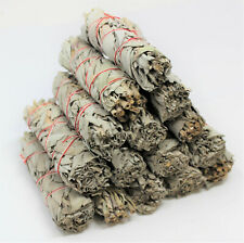 Wholesale Bulk White Sage Smudge Sticks: 1 3 5 10 20 25 50 100 (Smudging Bundle)