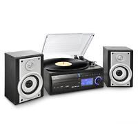 (RICONDIZIONATO) IMPIANTO STEREO HI FI GIRADISCHI VINILI LETTORE CD MP3 USB SD R