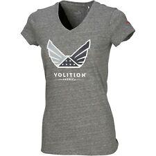 Womens Puma Volition America Tee T-Shirt Size XL Gray NWT