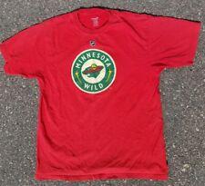 Derek Boogaard #24 Minnesota Wild Reebok Jersey T Shirt Tee Size M