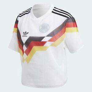 adidas Originals Germany Women's Layer Tee CY0684 MSRP $90