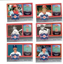 2006 Fleer Greats of the Game Red Sox Greats .Complete 10 card set. Williams