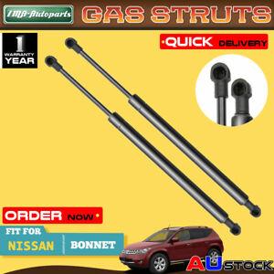 2x For Nissan Murano Z50 Series 2003 2004 2005-2007 Bonnet Hood Gas Struts