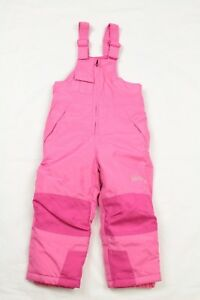 Weatherproof Girl's Toddler Pink Snow Bibs Ski Insulated Pants Size 3T