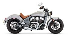 INDIAN SCOUT Freedom Exhaust 2:1 Turn Out Black