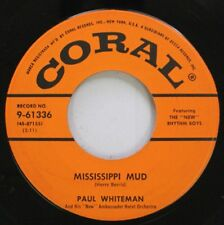 Jazz 45 Paul Whiteman - Mississippi Mud / Then And Now On Coral