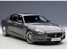 Autoart MASERATI QUATTROPORTE GTS 2015 MARATEA GREY 1/18 Scale New! In Stock!