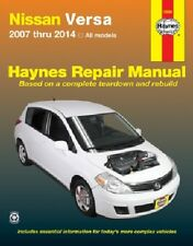 Repair Manual-S Haynes 72080 fits 12-13 Nissan Versa