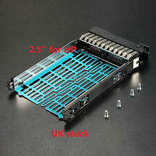 2.5 for HP SATA SAS HDD Caddy Tray BL25p BL45p G2/DL580 ML570 G3 G4/DL380 G7 G5