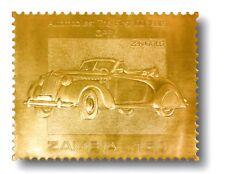 Opel, Briefmarke in 22 Karat Gold, postfrisch, Sambia, 913804600