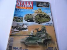 STEEL MASTERS ISSUE 51 - MILITARY HISTORY WARGAMING MAGAZINE