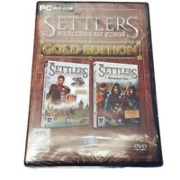 The Settler Heritage Of Kings Gold Edition PC DVD-ROM NEW Sealed +Expansion