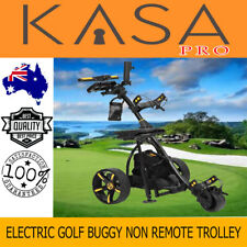 Virtual Electric Powered Golf Buggy Trolley Non Far Flung Three-Wheel 36 Holes