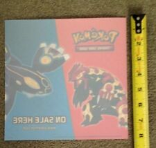 """Pokemon TCG On Sale Here Window Decal 8"""" x 8"""" Brand New Never Used Removeable"""