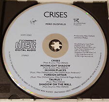 Mike Oldfield - Crises, Virgin CDV 2262, Blueface CD