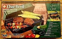 NEW CHAR-BROIL PORTABLE GAS GRILL 187 sq INCH COOKING SURFACE FILTERED REGULATOR