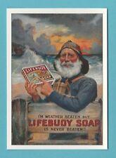 ADVERTISING  -  ROBERT  OPIE  POSTCARD  -  LIFEBUOY  SOAP     (C)