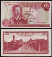 Luxemburg - Luxembourg 100 Francs Banknote 1970 Pick 56a VF (3)  (14958