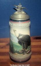 Anheuser-Busch BIRDS OF PREY STEIN ~ BALD EAGLE CS164