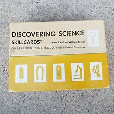 Discovering Science Skillcards Otho Perkins William Tilsner Teaching AIds