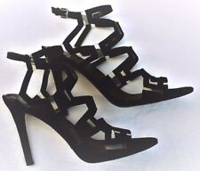 SHOES ~ GUESS ~ Women's Heels Sz 7.5 M Suede & Plastic textile man made upper