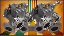 Twin 40 DCOE FAJS (Weber) sidedraft carburettor set suit Toyota Corolla 3K 4K 5K