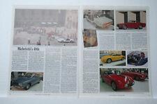 Michelotti 40th Article + Modena show  Motoring epherma scrap book cutting 1989