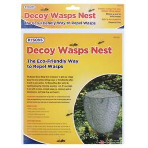 WASP DECOY NEST SIMULATED DETERRENT ANTI NESTS DETER WASPS FREE GARDEN PEST SAFE