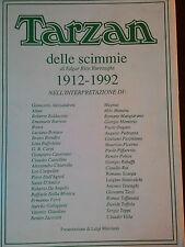 Marcianò-Tarzan-Burroughs interpretazione:Alessandrini,Altan,Bonvi,Magnus,Manara
