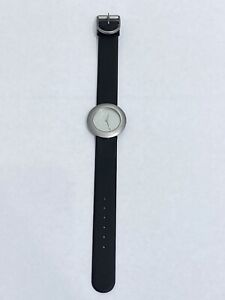 Niessing Ladies Steel Watch Leather Strap Contemporary Design Made In Germany
