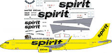 Spirit Airlines Airbus A-321 decals for Revell 1/144 kit